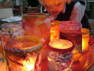 crafting jars