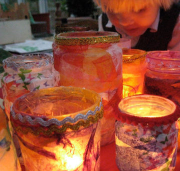crafting jars